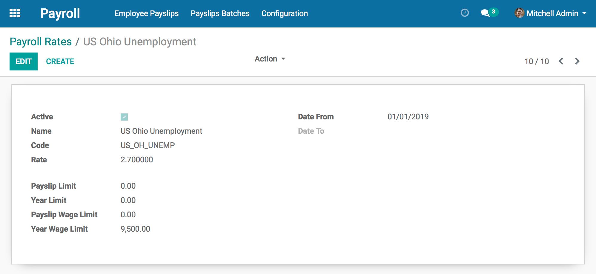 State of Odoo Payroll 2019 | hibou io