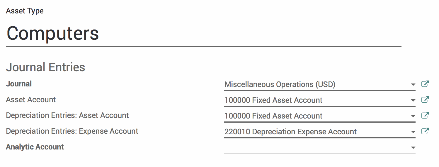 odoo 11 accounting fixed assets